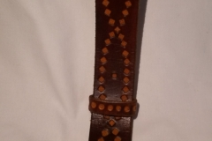Belts 2 – belt from our hand stamped patterned range
