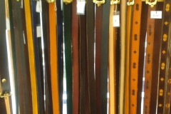 Belts 4 – a variety of belts from our stock range